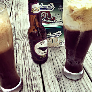 Oatmeal Stout Ice Cream Float