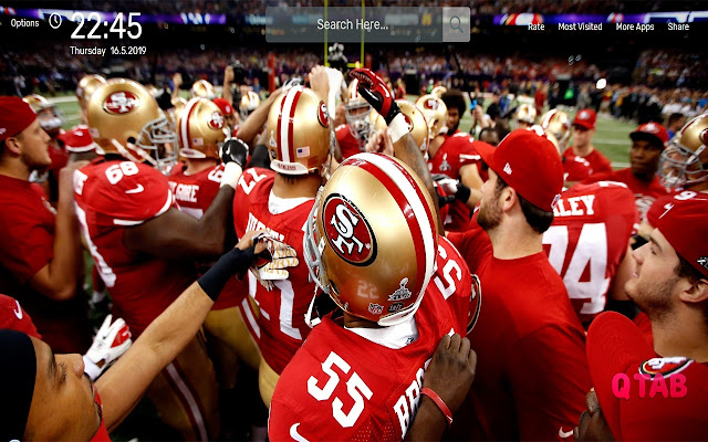 Nfl San Francisco 49ers Wallpapers Hd Theme