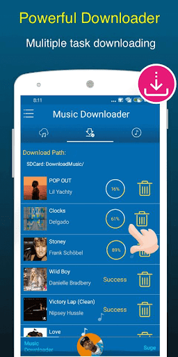 Free Music Downloader + Mp3 Music Download Songs 1.0.5 Screenshots 4