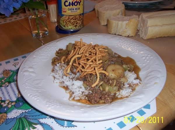 Hamburg Chow Mein Quick And Easy