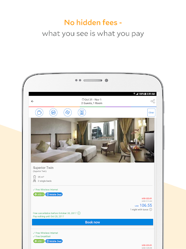 Agoda – Hotel Booking Deals app (apk) free download for Android/PC/Windows screenshot