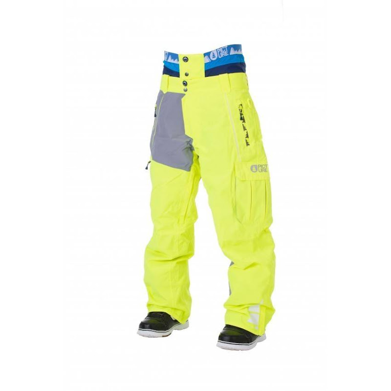 Picture Organic Clothing - Door Pant / Fluo Yellow