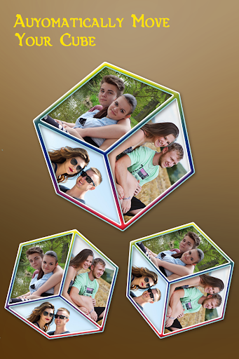 Romantic Couple cube LWP - 3D Cube LWP screenshot