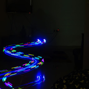SN by S Nair - Abstract Light Painting