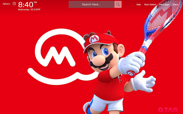 Mario Tennis Aces Wallpapers HD Theme