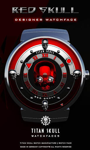 Red Skull Watch Face