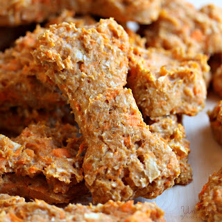 Sweet Potato & Apple Dog Treats