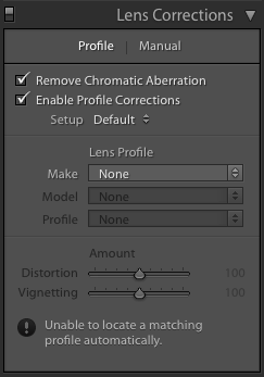 Advanced Lightroom editing: Lens Corrections Menu - Frenchly Photography