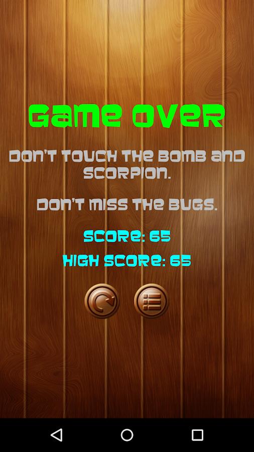 Bug Smasher FREE- screenshot