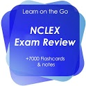 NCLEX Exam Review- 7700 Notes, Quiz & Flashcards icon