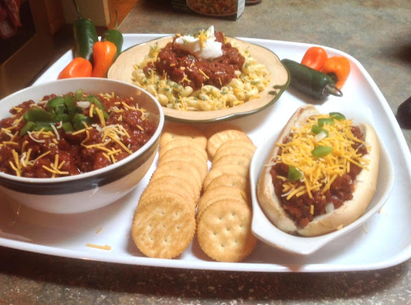 3 In One Meat Lovers Chili Con Carne Recipe