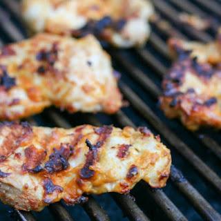 Easy Lighter Grilled Buffalo Chicken.