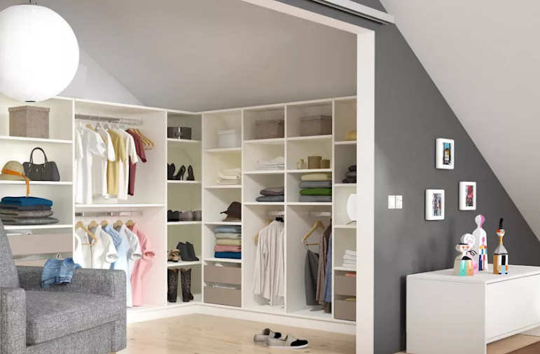 Thiết kế phòng để quần áo khoa học, tiện lợi trong nhà
