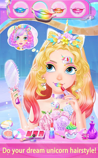 Unicorn Fantasy Hair Salon 1.1.4 screenshots 8