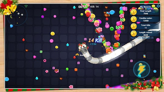 Snake Candy.IO – Multiplayer Snake Slither Game 3