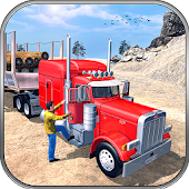 Real Offroad Cargo Truck Sim: Hill Climb Driver