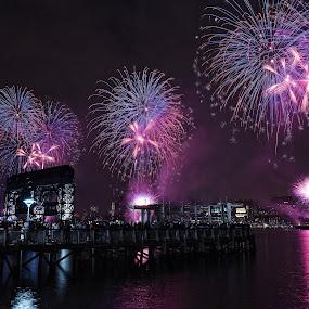 Blast by Ronald Susaya - Uncategorized All Uncategorized ( fireworks, july 4th,  )