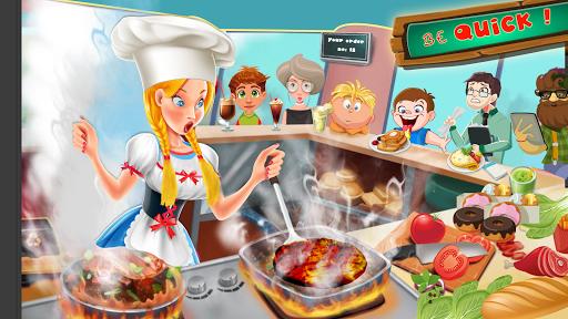 Fast Food Chef Truck : Burger Maker Game 1.0 screenshots 4