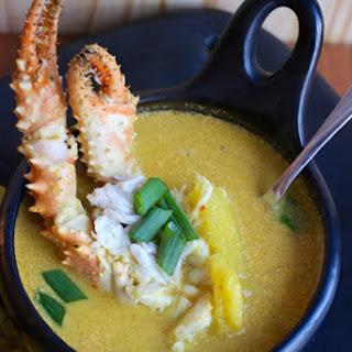 Sopa de Cangrejo (Crab and Coconut Soup)