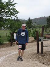 "Photo: Jon Teisher getting all he can handle on the ""Hardrock training run""."