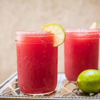 Watermelon Agua Fresca Mimosas.