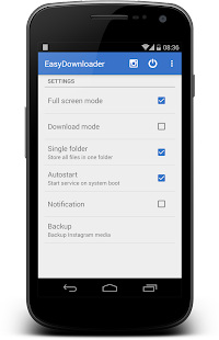 EasyDownloader for Instagram Screenshot