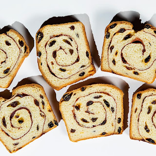 Cinnamon Swirl Raisin Bread.