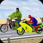 Highway Moto Bike Racing Free Icon
