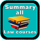 Download Summary all law courses For PC Windows and Mac