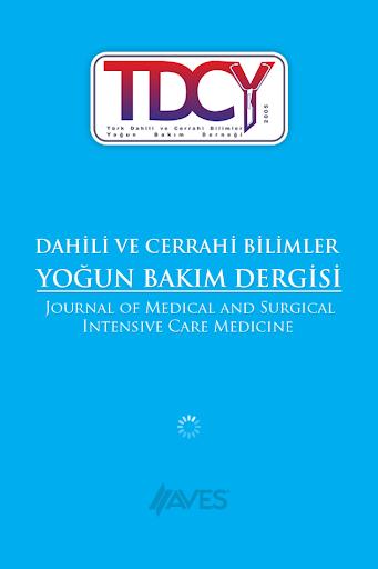 DCB Yoğun Bakım Dergisi