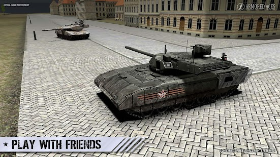 Armored Aces - 3D Tank War Online Screenshot