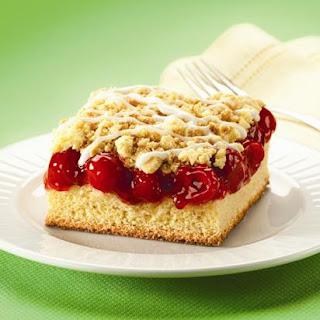Cherry Crumb Cake.
