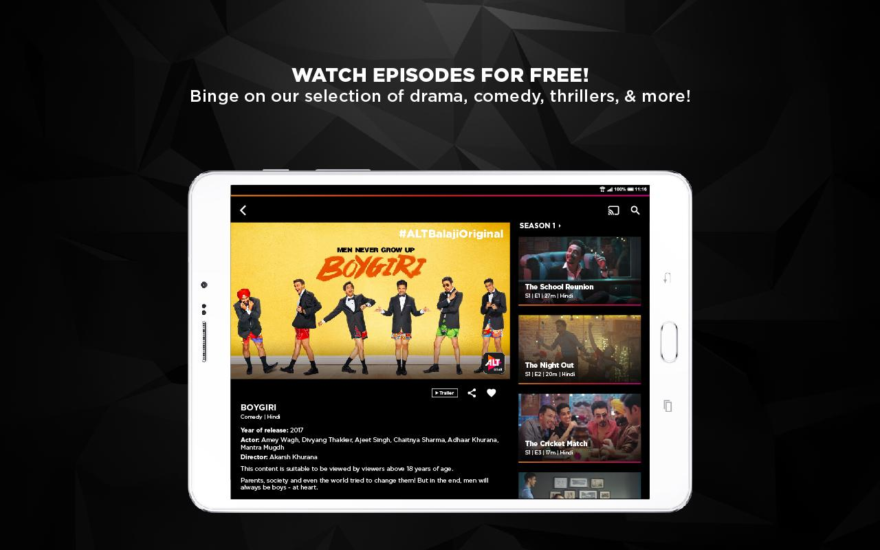 ALTBalaji- screenshot