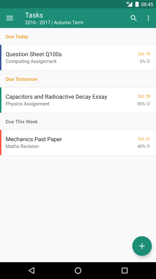 My Study Life - School Planner- screenshot