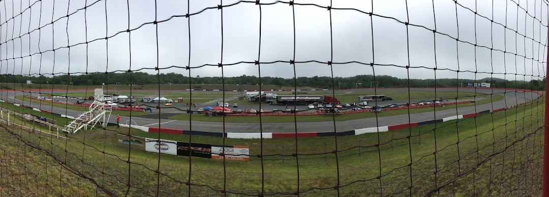 UMI Motorsports park from the stands