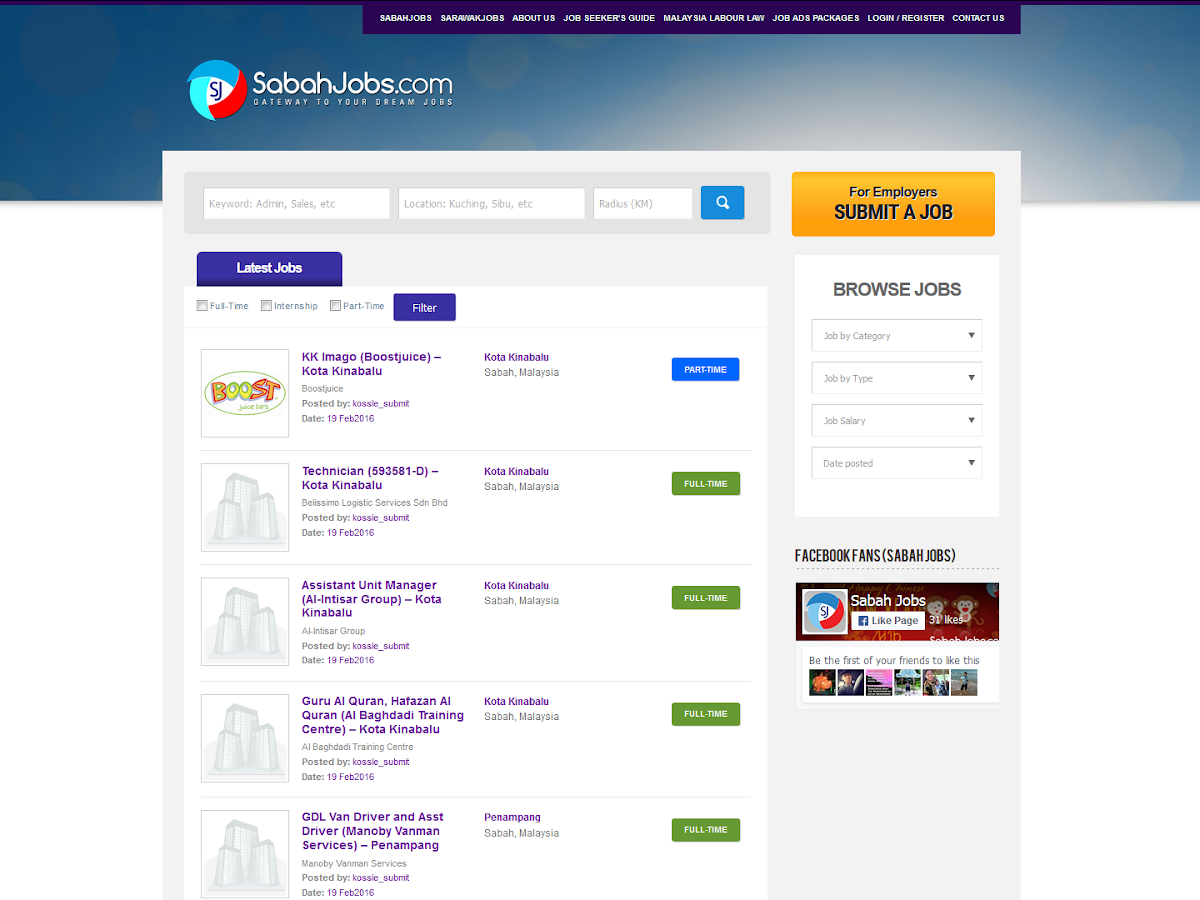 Sabah Jobs - Android Apps on Google Play