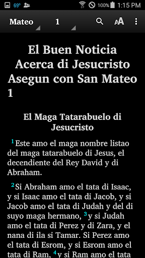 Chavacano - Bible 5.6 screenshots 2