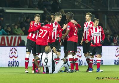 """Le PSV perd deux points importants devant ses supporters """"aveuglés"""""""