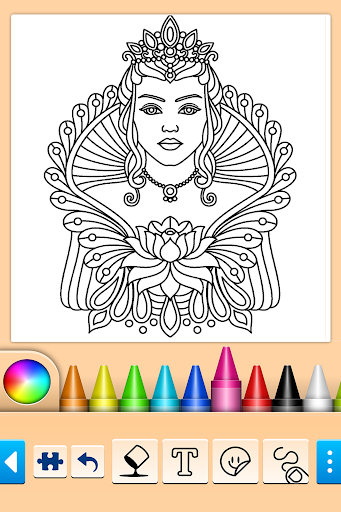 Mandala Coloring Pages screenshot 13