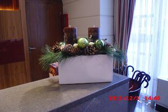Photo: Christmas time at K+K Palais Hotel, Vienna