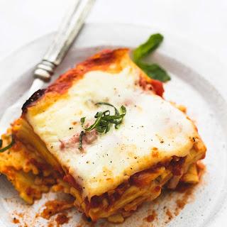 Slow Cooker Ravioli Lasagna.