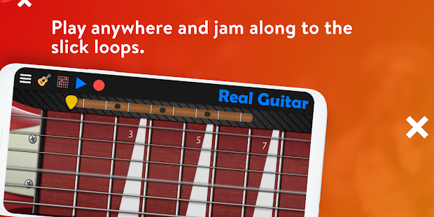 Real Guitar - Guitar Playing Made Easy. Screenshot