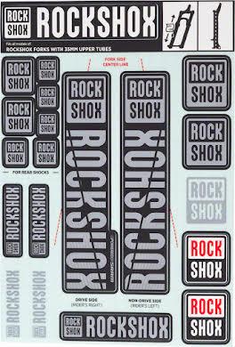 RockShox Decal Kit, 35mm alternate image 0