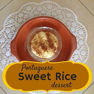 Portuguese Sweet Rice Dessert
