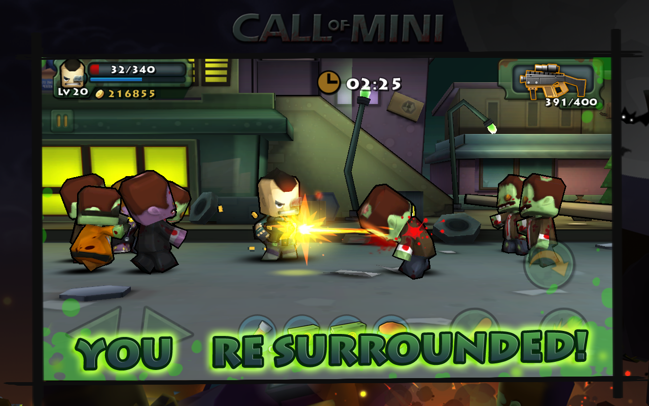 Call of Mini: Brawlers- screenshot