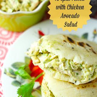 Arepas Filled with Avocado Chicken Salad (Reina Pepiada) Recipe