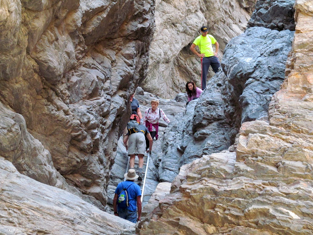 Large group in Painted Canyon