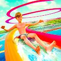 Water Park Slide Racing Adventure icon