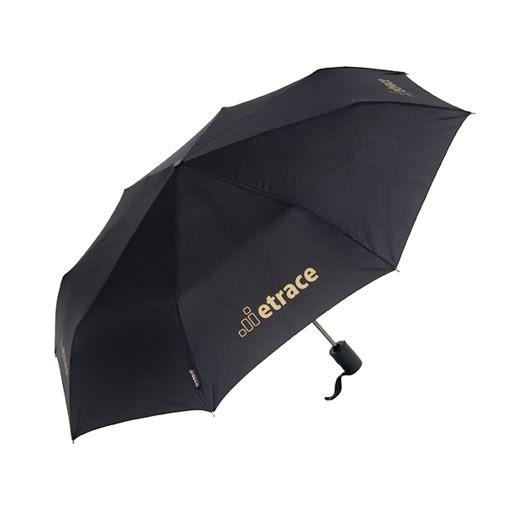 Telescopic Folding Umbrella Black