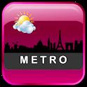 Metro Clock Widget icon